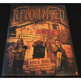 Turbocharged - Area 666 Poster