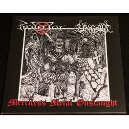 Protector/Ungod (DE) - Merciless Metal Onslaught LP