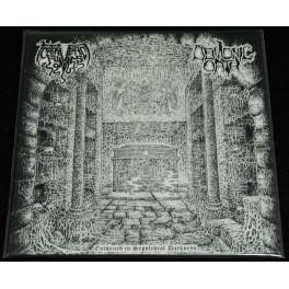 Cadaveric Fumes / Demonic Oath (FR) - Entwined In Sepulchral Darkness Split-LP