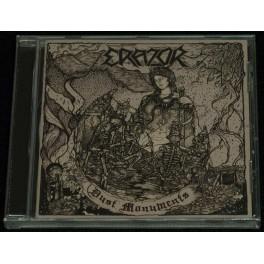 Erazor (DE) - Dust Monuments CD