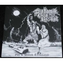 "Satanik Goat Ritual (US) - God Of Atomik Termination 7"""