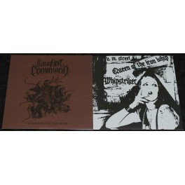 """Slaughter Command / Whipstriker (DE/BR) - Condemned To The Grave / Queen Of The Iron Whip 7"""""""