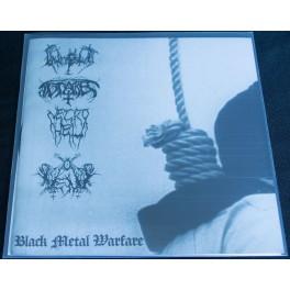 """Intempestus /Antares /Vent /Necrohell (DE/DE/DE/GR) - Black Metal Warfare 7"""""""