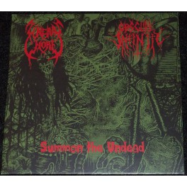 """Funeral Whore (NLD) / Obscure Infinity (DEU) - Summon The Undead Split-7"""""""