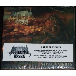 Nocturnal Breed (NOR) - Napalm Nights DIGIPAK-CD
